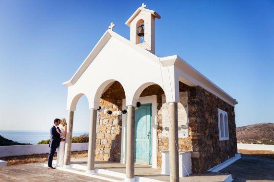 Evan and Raquel's Greek wedding