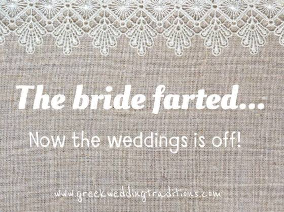 GWS Quote - The Bride Farted
